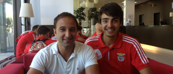 Andre Ferreira é Campeão Nacional Sub17 pelo Benfica ...